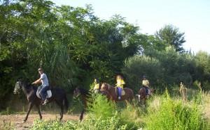 Escursioni a cavallo sul Gargano