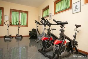 sala fitness hotel puglia