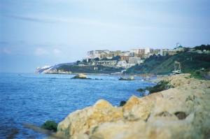 Rodi Garganico vista dalla costa