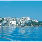 Rodi Garganico vista dal mare