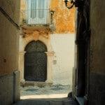 Rodi Garganico portone centro storico